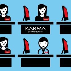 Karma Communication - Chi si alza perde il posto