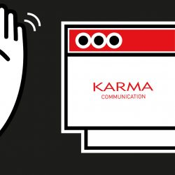 Karma Communication - Ciao a quelli che leggono il blog