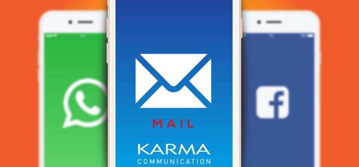 L'email rimane un must, non sostituitela con i social