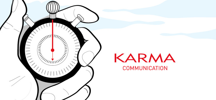 Per Karma Communication la tempestività è fondamentale