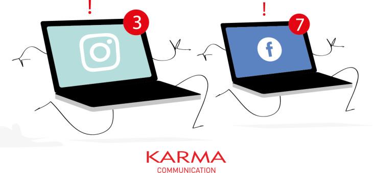 Siate reattivi sui vostri profili social