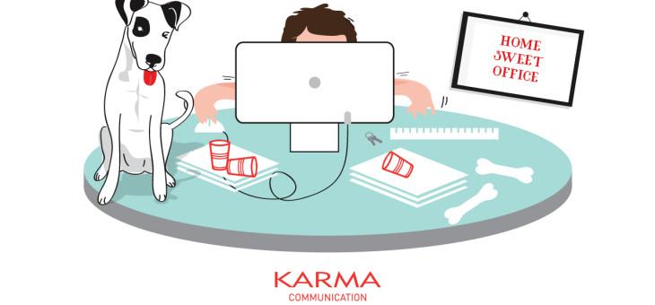 Karma Communication l'agenzia che sta anche a casa