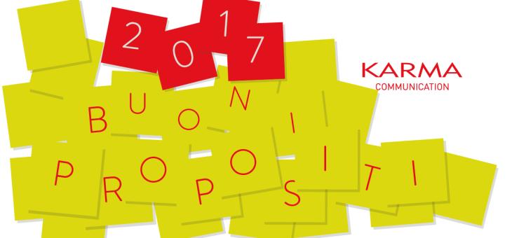 I vostri buoni propositi per il 2017
