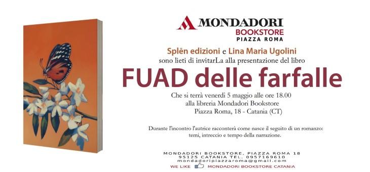 Fuad delle Farfalle il 5 maggio allo Spedalieri e al Mondadori Bookstore