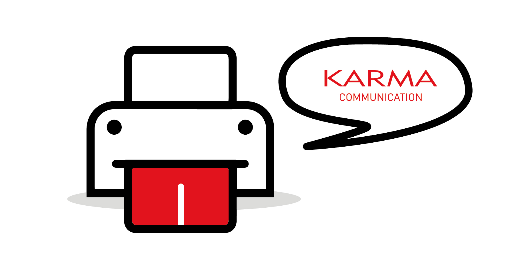 Karma Communication - Stampante che vive di vita propria