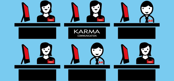 Karma Communication, chi si alza perde il posto