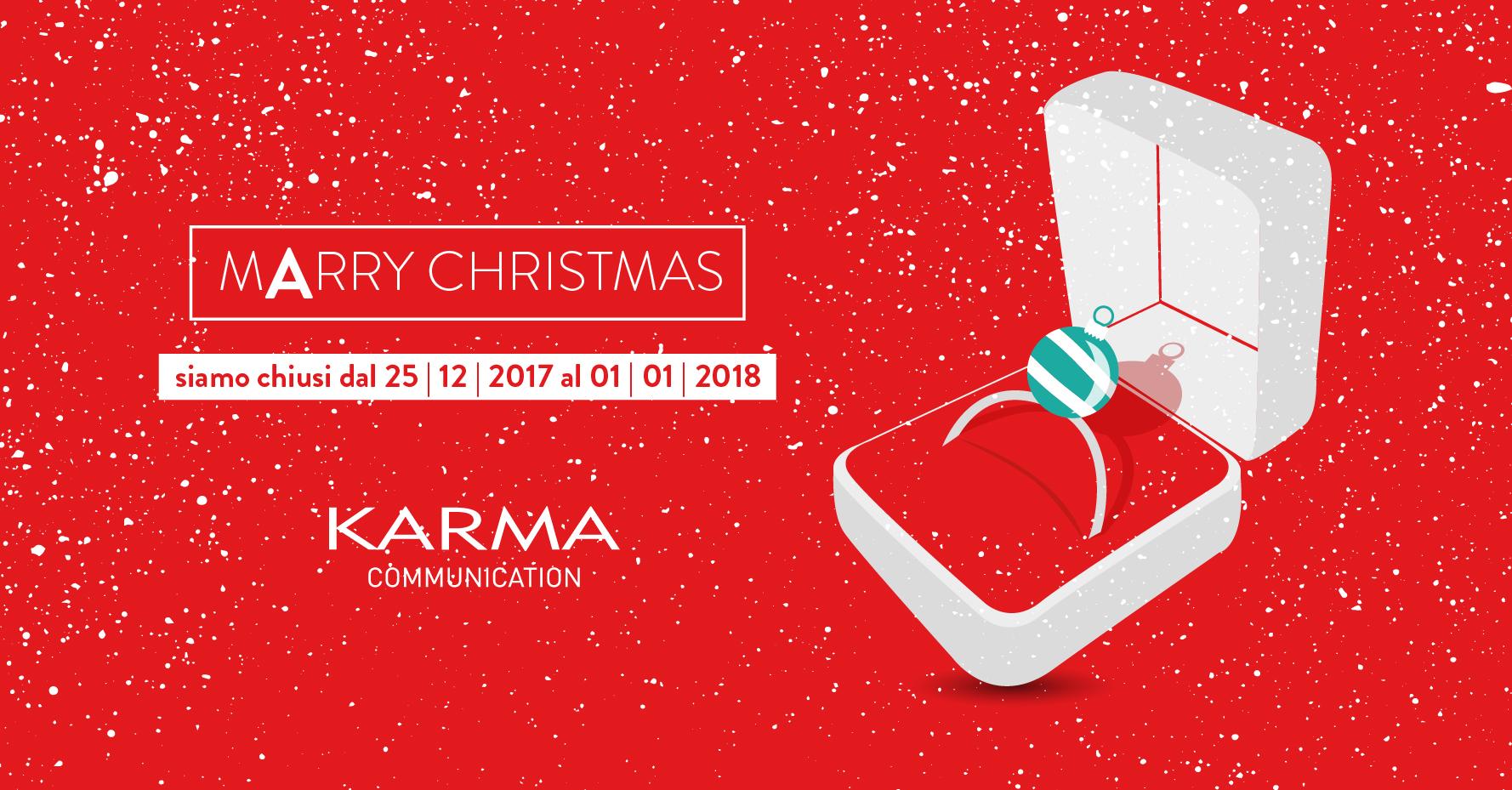 Karma Communication - Auguri di Natale