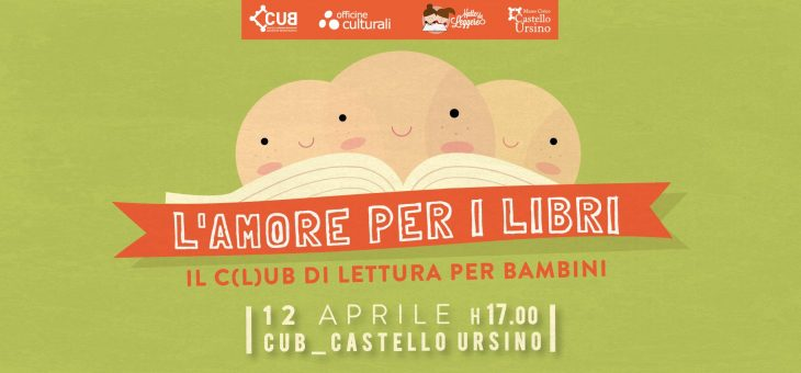 Giovedì 12 aprile appuntamento con il Mini-C(L)UB di lettura al Castello Ursino