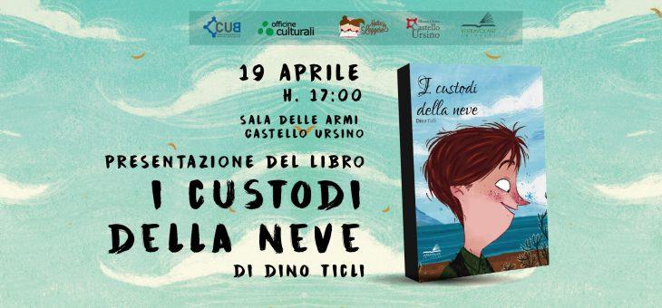 """Dino Ticli presenta """"I custodi della neve"""" al Castello Ursino"""