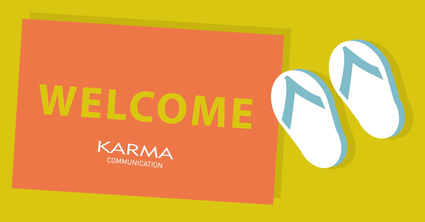 Karma Communication - Benvenuto Giugno