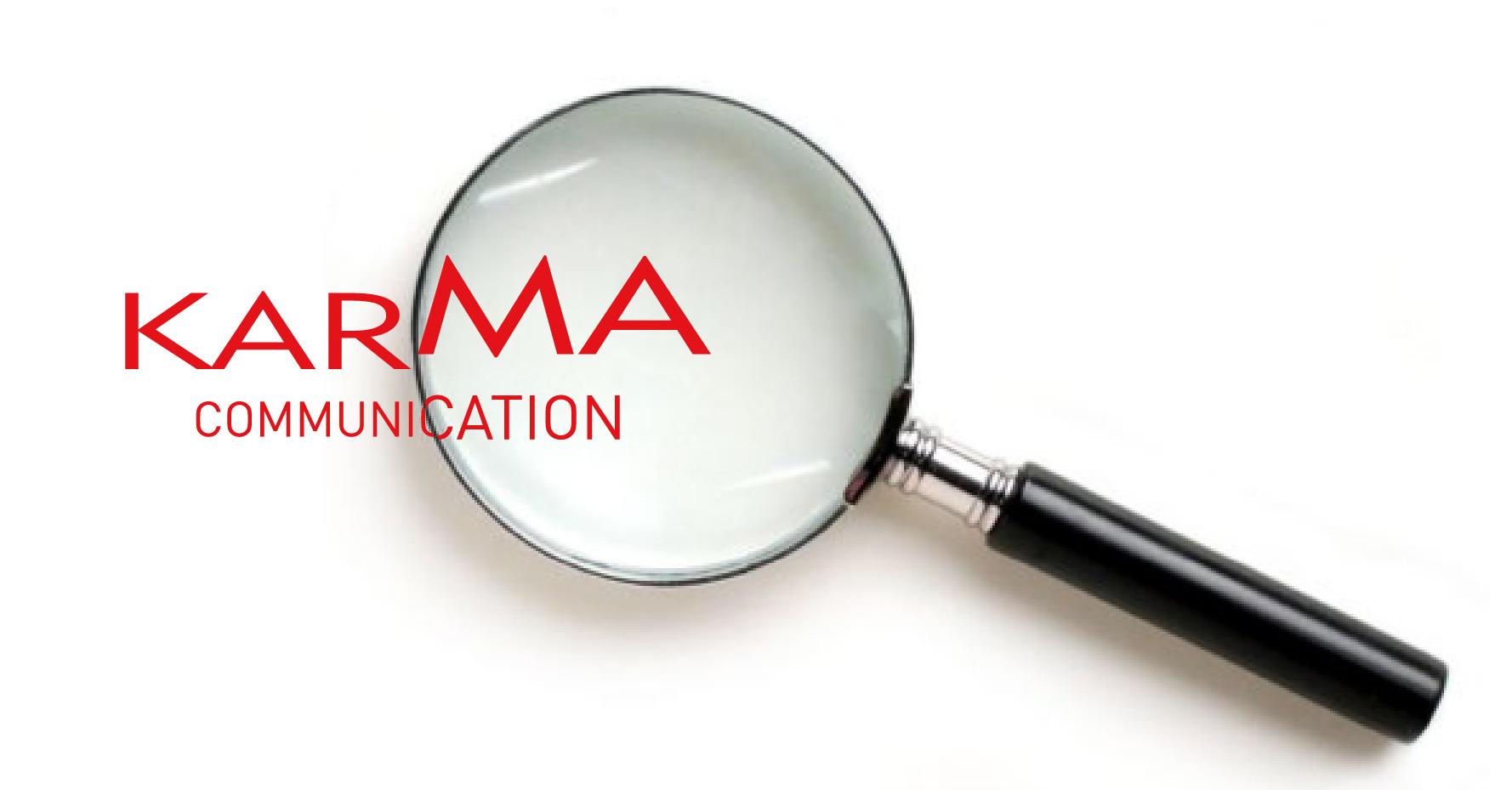 Karma Communication - Le cose che non sapete di Karma Communication
