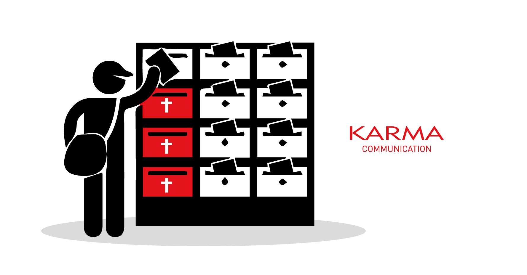 Karma Communication - Morti e feriti nella mail