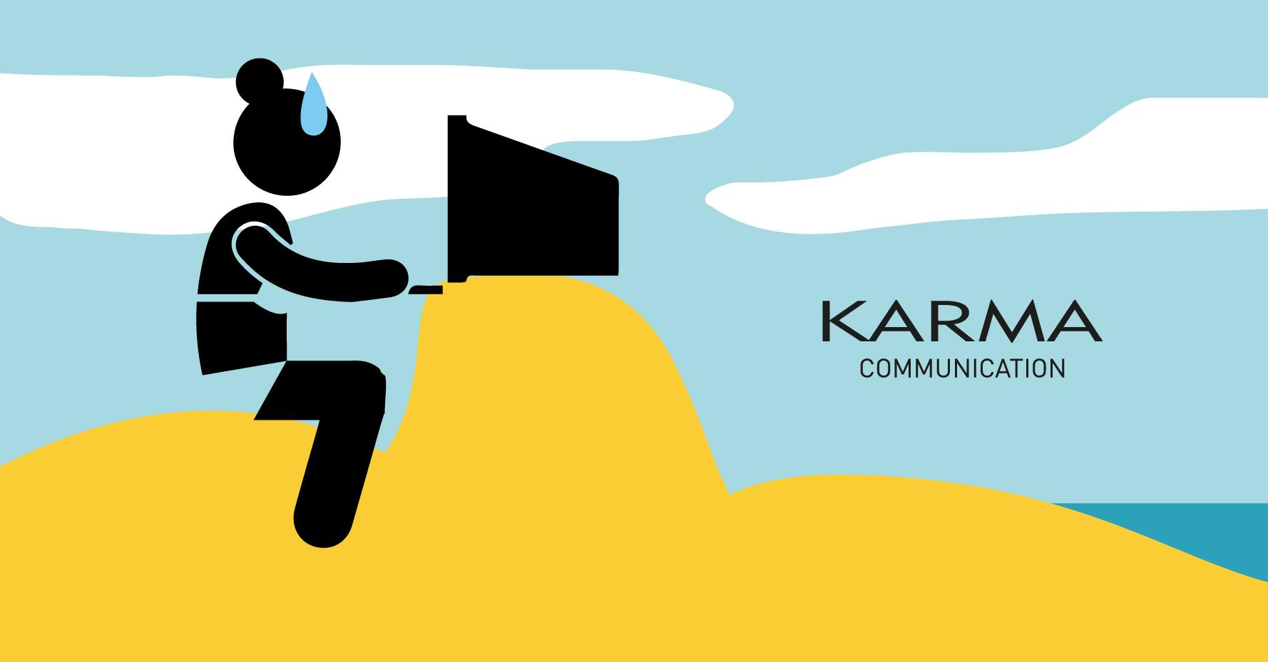 Karma Communication - L'evoluzione di una giornata libera