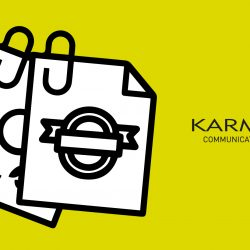 Karma Communication - Loghi in cartoncino