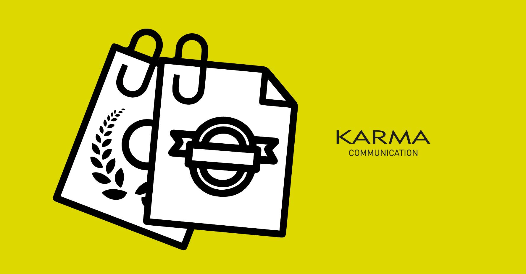 Karma Communication - Loghi in cartoncino