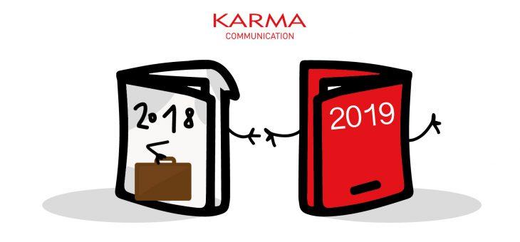 Agenda 2019 benvenuta sul tavolo di Karma Communication