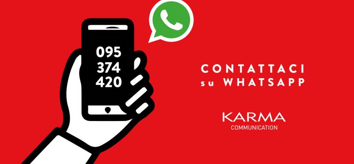 Karma Communication su Whatsapp con 095374420