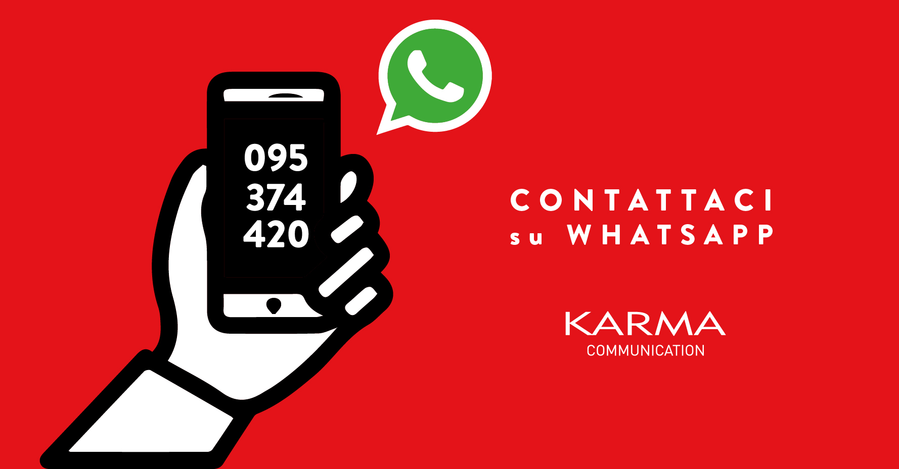 Karma Communication su Whatsapp